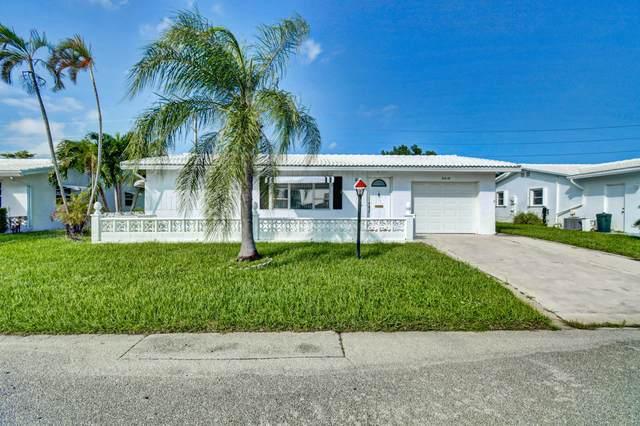2019 SW 16th Avenue, Boynton Beach, FL 33426 (MLS #RX-10673013) :: Berkshire Hathaway HomeServices EWM Realty