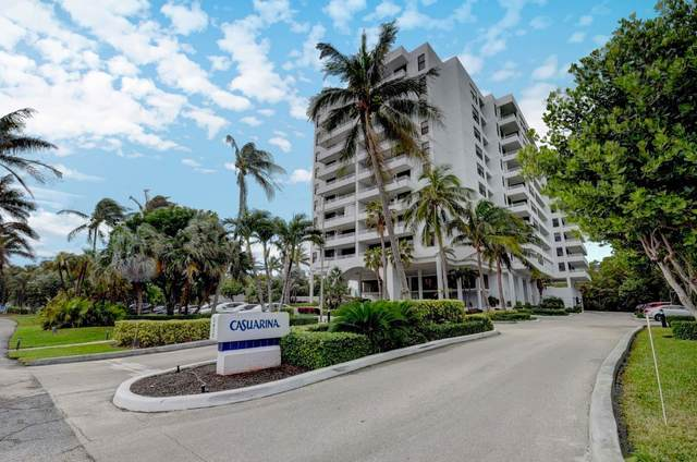 3450 S Ocean Boulevard #704, Highland Beach, FL 33487 (MLS #RX-10673057) :: Castelli Real Estate Services