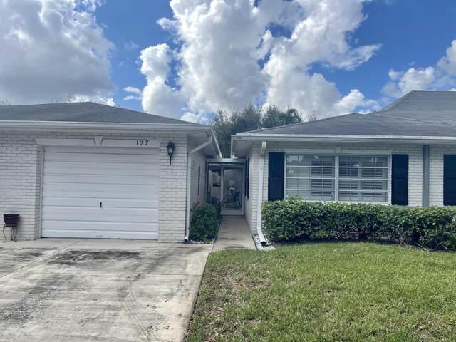 10105 S 42nd Terrace #127, Boynton Beach, FL 33436 (#RX-10673140) :: Posh Properties