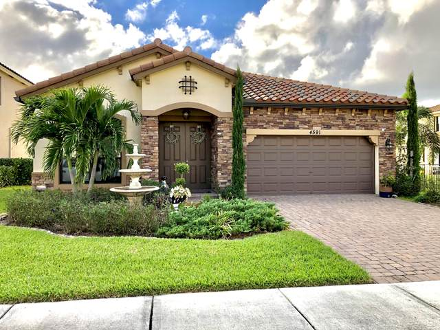 4591 Sandy Cove Terrace, Lake Worth, FL 33467 (MLS #RX-10673310) :: Berkshire Hathaway HomeServices EWM Realty