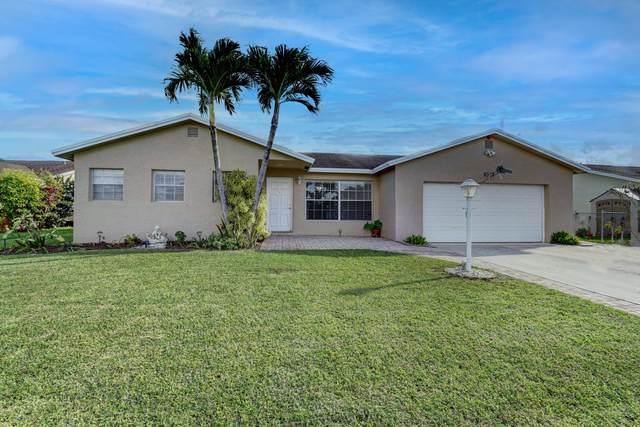 9312 SW 16th Road W, Boca Raton, FL 33428 (MLS #RX-10673417) :: Berkshire Hathaway HomeServices EWM Realty