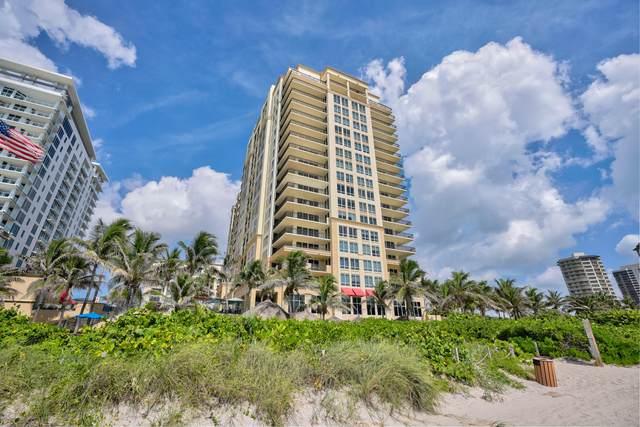 3800 N Ocean Drive #414, Riviera Beach, FL 33404 (#RX-10673523) :: Baron Real Estate