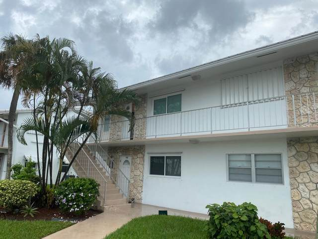 2700 W Golf Boulevard #242, Pompano Beach, FL 33064 (MLS #RX-10673872) :: Castelli Real Estate Services