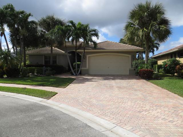11035 Via San Remo, Boynton Beach, FL 33437 (MLS #RX-10673874) :: Laurie Finkelstein Reader Team