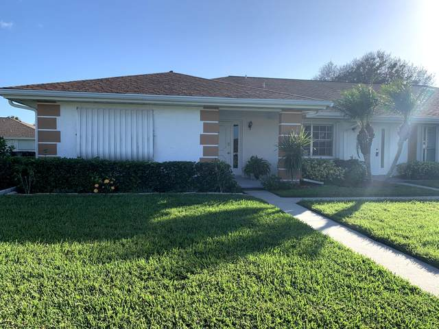 1005 Pheasant Run Drive A, Fort Pierce, FL 34982 (MLS #RX-10673939) :: Berkshire Hathaway HomeServices EWM Realty