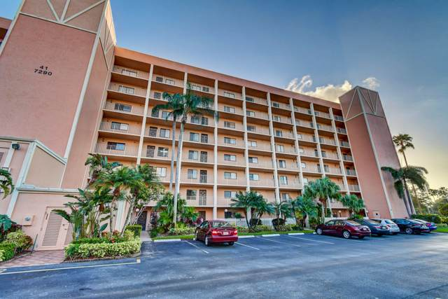 7290 Kinghurst Drive #406, Delray Beach, FL 33446 (MLS #RX-10673976) :: Berkshire Hathaway HomeServices EWM Realty