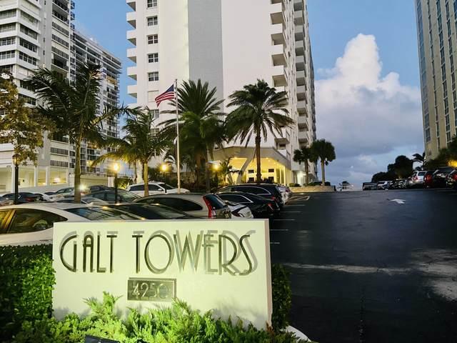 4250 Galt Ocean Drive 14K, Fort Lauderdale, FL 33308 (MLS #RX-10674104) :: Dalton Wade Real Estate Group