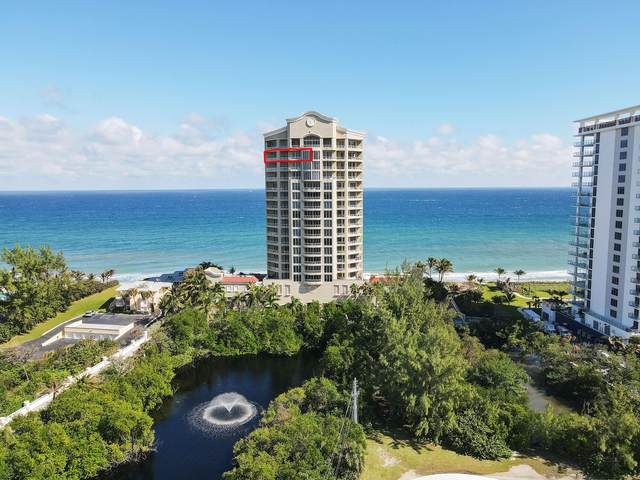5050 N Ocean Drive #1801, Singer Island, FL 33404 (#RX-10674123) :: Treasure Property Group