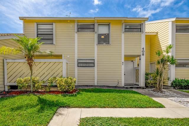 408 Lakewood Court 6C, Jupiter, FL 33458 (#RX-10674142) :: Ryan Jennings Group