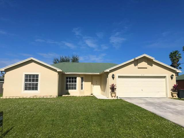 419 NW Kilpatrick Avenue, Port Saint Lucie, FL 34983 (MLS #RX-10674249) :: THE BANNON GROUP at RE/MAX CONSULTANTS REALTY I