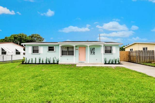 2674 Bridgeman Drive, West Palm Beach, FL 33409 (MLS #RX-10674263) :: Castelli Real Estate Services