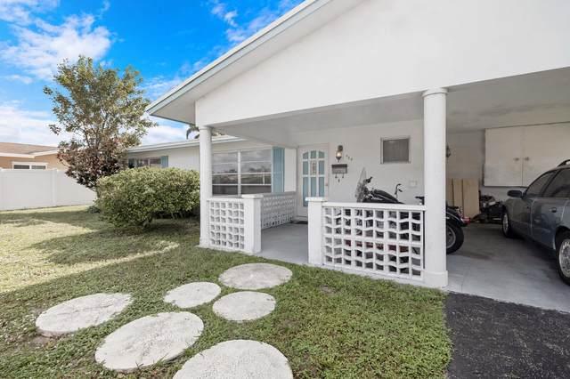 924 SE 10th Court, Pompano Beach, FL 33060 (#RX-10674364) :: Posh Properties
