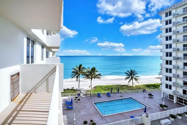 3215 S Ocean Boulevard #507, Highland Beach, FL 33487 (#RX-10674431) :: The Rizzuto Woodman Team