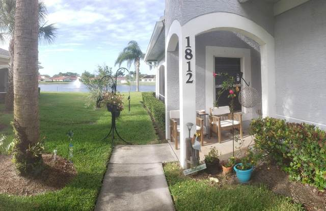 1812 Sandhill Crane Drive #1, Fort Pierce, FL 34982 (MLS #RX-10674437) :: Berkshire Hathaway HomeServices EWM Realty