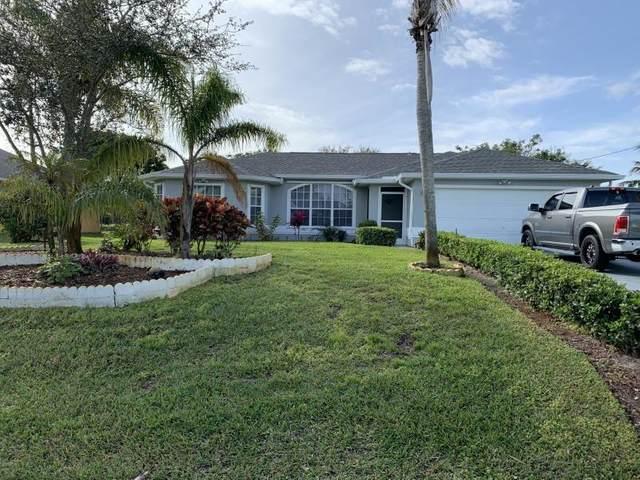 612 SE Dean Terrace, Port Saint Lucie, FL 34984 (#RX-10674458) :: Realty One Group ENGAGE