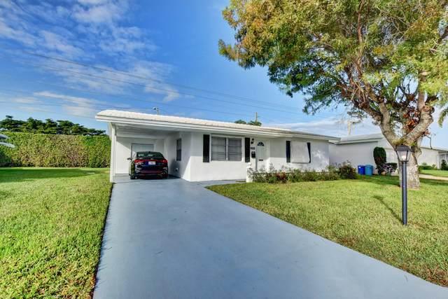 1105 Leisure Lane, Boynton Beach, FL 33426 (MLS #RX-10674521) :: Laurie Finkelstein Reader Team