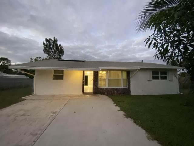 3545 Ruskin Avenue, Boynton Beach, FL 33436 (MLS #RX-10674622) :: Laurie Finkelstein Reader Team