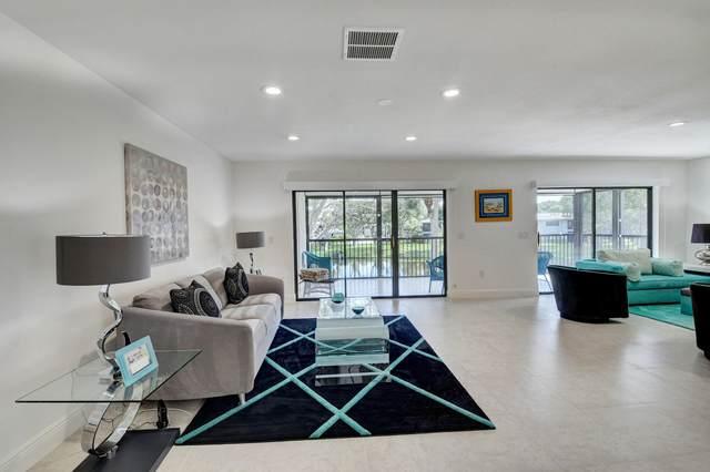 51 Stratford Lane H, Boynton Beach, FL 33436 (MLS #RX-10674646) :: Berkshire Hathaway HomeServices EWM Realty
