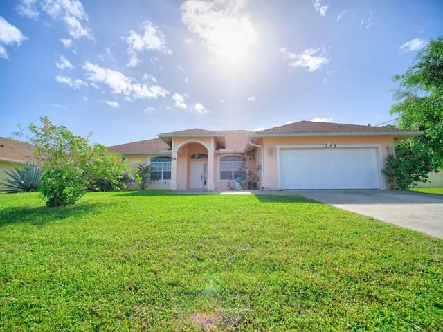 1296 SW Mancuso Avenue, Port Saint Lucie, FL 34953 (MLS #RX-10674792) :: The Jack Coden Group