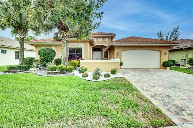 9386 Isles Cay Drive, Delray Beach, FL 33446 (MLS #RX-10674960) :: Berkshire Hathaway HomeServices EWM Realty
