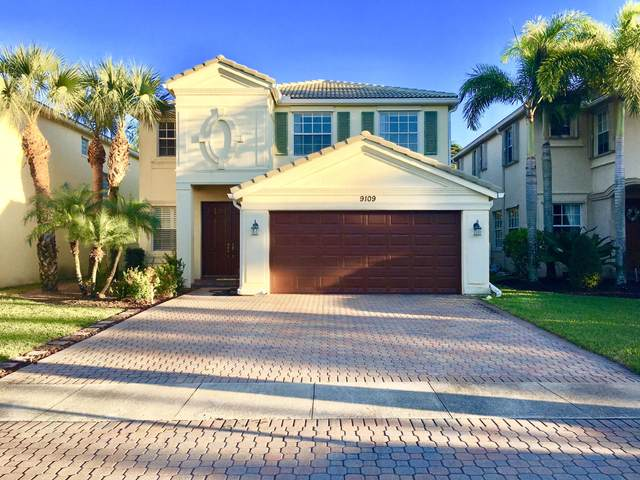 9109 Dupont Place, Wellington, FL 33414 (MLS #RX-10675206) :: Laurie Finkelstein Reader Team