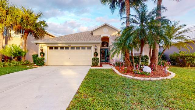 849 NW Waterlily Place, Jensen Beach, FL 34957 (MLS #RX-10675493) :: THE BANNON GROUP at RE/MAX CONSULTANTS REALTY I