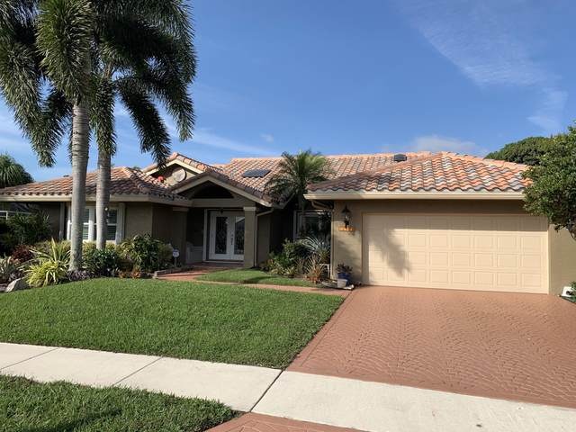 12403 Dogleg Drive, Boynton Beach, FL 33437 (MLS #RX-10675607) :: Laurie Finkelstein Reader Team