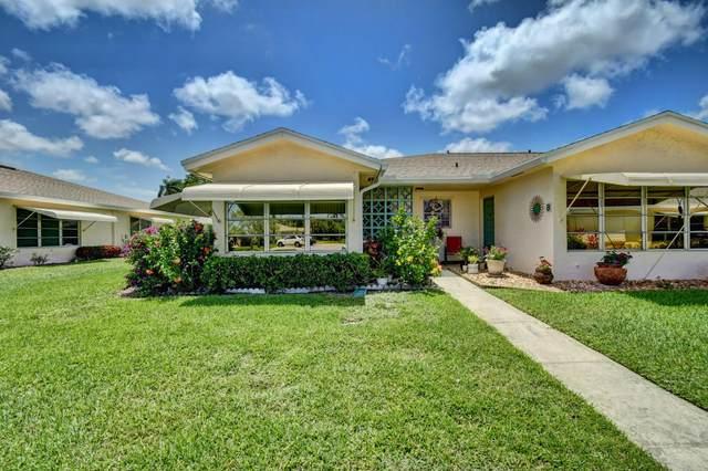 5085 Lakefront Boulevard A, Delray Beach, FL 33484 (#RX-10675613) :: Posh Properties