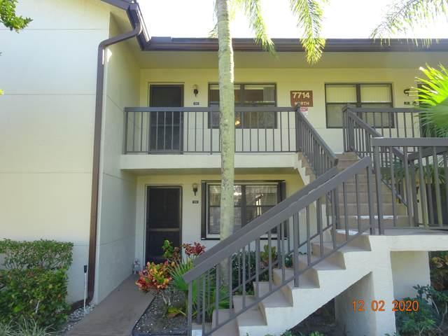 7714 Tahiti Lane #204, Lake Worth, FL 33467 (#RX-10675779) :: Posh Properties