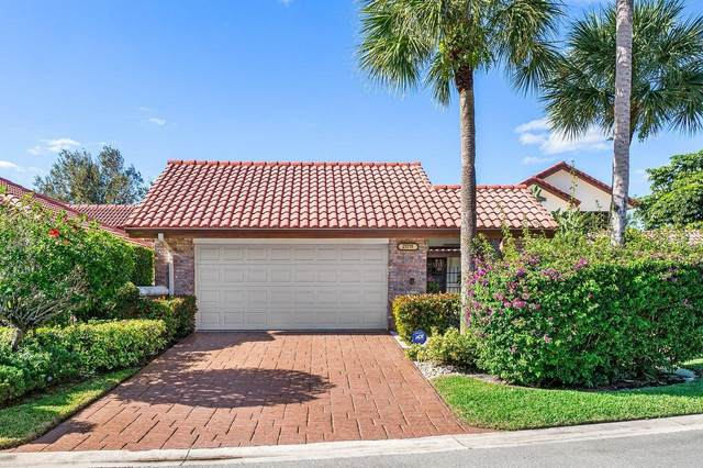 21711 Club Villa Terrace, Boca Raton, FL 33433 (MLS #RX-10675827) :: Laurie Finkelstein Reader Team