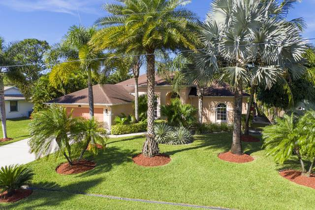 857 SW Nichols Terrace, Port Saint Lucie, FL 34953 (#RX-10676008) :: Realty One Group ENGAGE