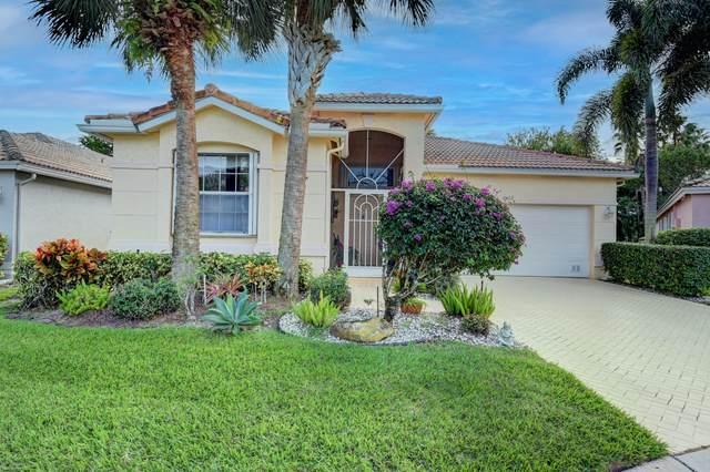 6422 Pebble Creek Way, Boynton Beach, FL 33437 (MLS #RX-10676178) :: Castelli Real Estate Services