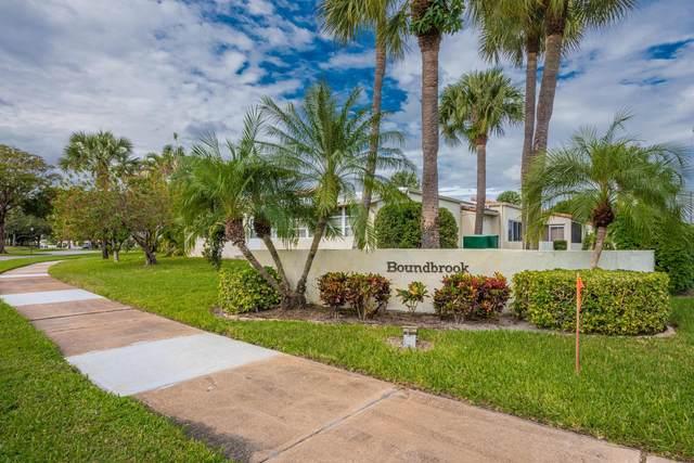 2561 Boundbrook Boulevard #110, Palm Springs, FL 33406 (#RX-10676655) :: Treasure Property Group