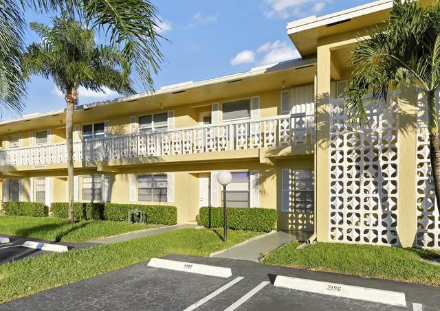 1120 Mahogany Way #103, Delray Beach, FL 33445 (#RX-10676686) :: Realty One Group ENGAGE