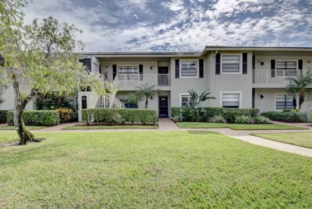 23 Stratford Drive E C, Boynton Beach, FL 33436 (MLS #RX-10677089) :: Castelli Real Estate Services