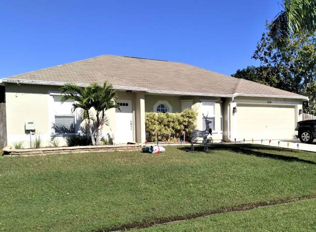 339 SW Dwight Avenue, Port Saint Lucie, FL 34983 (MLS #RX-10677236) :: Miami Villa Group