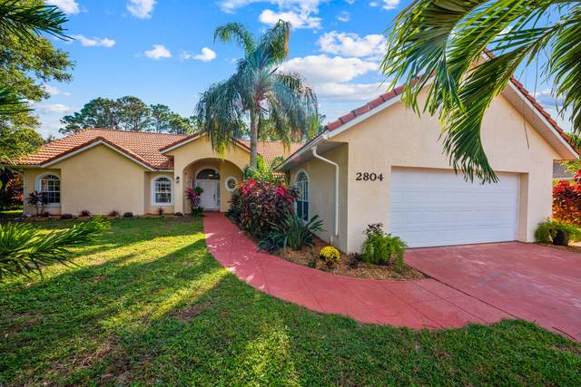 2804 S Serenity Circle, Fort Pierce, FL 34981 (MLS #RX-10677678) :: THE BANNON GROUP at RE/MAX CONSULTANTS REALTY I