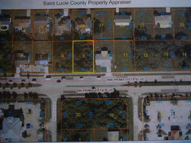 645 NW Prima Vista Boulevard, Port Saint Lucie, FL 34983 (MLS #RX-10677869) :: Miami Villa Group