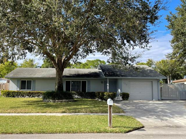 120 Martin Circle, Royal Palm Beach, FL 33411 (MLS #RX-10678312) :: Laurie Finkelstein Reader Team