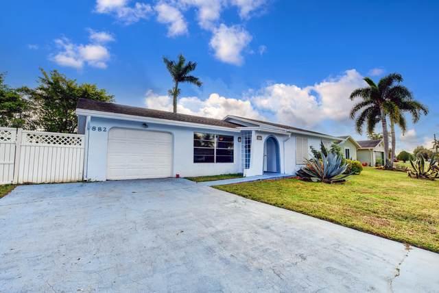 882 Hibiscus Drive, Royal Palm Beach, FL 33411 (MLS #RX-10678917) :: Laurie Finkelstein Reader Team