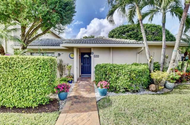 43 Stratford Lane D, Boynton Beach, FL 33436 (MLS #RX-10679011) :: Castelli Real Estate Services