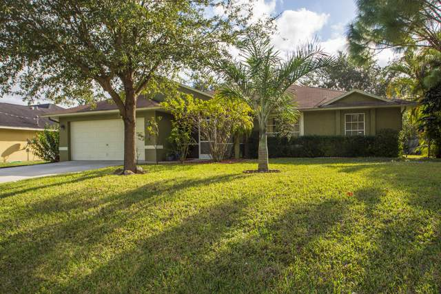 1436 SW Merchant Lane, Port Saint Lucie, FL 34953 (MLS #RX-10679125) :: Laurie Finkelstein Reader Team