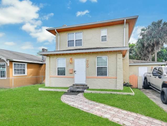 700 38th Street, West Palm Beach, FL 33407 (MLS #RX-10679204) :: Miami Villa Group