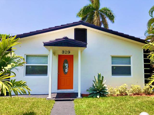 329 Nottingham Boulevard, West Palm Beach, FL 33405 (MLS #RX-10679366) :: THE BANNON GROUP at RE/MAX CONSULTANTS REALTY I