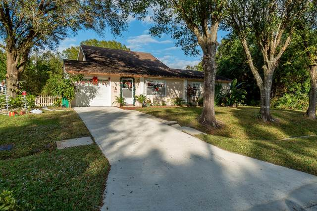 1463 SW Leisure Lane, Port Saint Lucie, FL 34953 (MLS #RX-10679861) :: THE BANNON GROUP at RE/MAX CONSULTANTS REALTY I