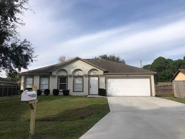 3030 SW Briggs Street, Port Saint Lucie, FL 34984 (MLS #RX-10680005) :: THE BANNON GROUP at RE/MAX CONSULTANTS REALTY I