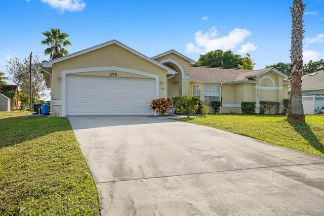 574 SW Lucero Drive, Port Saint Lucie, FL 34983 (MLS #RX-10680045) :: Miami Villa Group