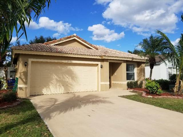 1063 Fosters Mill Road, Boynton Beach, FL 33436 (MLS #RX-10680125) :: THE BANNON GROUP at RE/MAX CONSULTANTS REALTY I