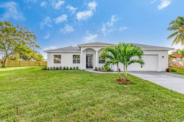 1949 Wisteria Street, Wellington, FL 33414 (MLS #RX-10680137) :: Laurie Finkelstein Reader Team