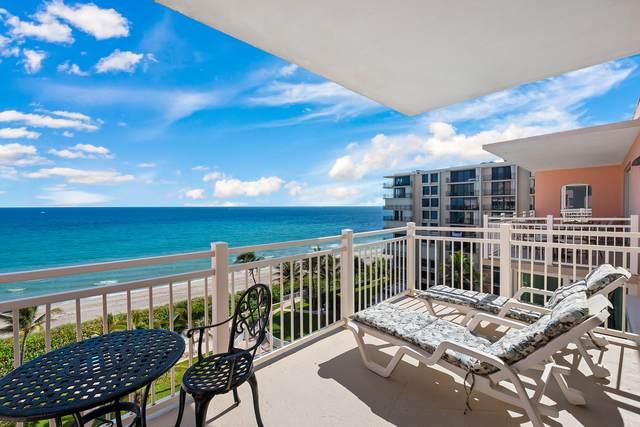 2921 S Ocean Boulevard #704, Highland Beach, FL 33487 (#RX-10680147) :: The Power of 2 | Century 21 Tenace Realty